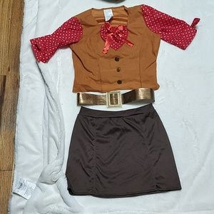Cowgirl Costume Size 5-6